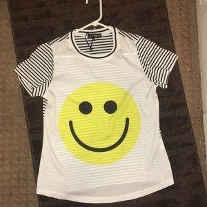 Tops - Festival HappyFace sheer shirt
